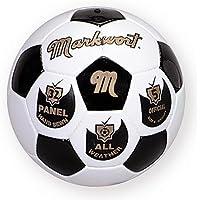 従来ブラックandホワイトHand Sewn Markwortからサッカーボール – サイズ5