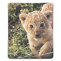 マウスパッド 耐久性 疲労低減 動物の赤ちゃんライオン