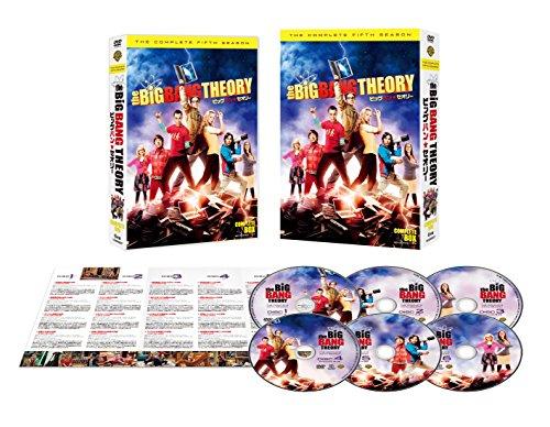 ビッグバン★セオリー 〈フィフス・シーズン〉コンプリート・ボックス(6枚組) [DVD]の詳細を見る