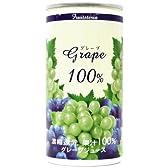 フルーツテリア 100%グレープジュース 195g×30缶