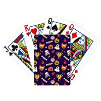 パンプキンハッピーゴースト恐怖ハロウィンPoker PlayingカードTabletopボードゲームギフト