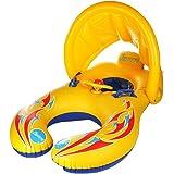 [RoF SHOP]親子浮き輪 浮き輪 うきわ  屋根付き  ベビースイムフロート 足入れ 水泳 新生児 幼児 スイミングリング プール ベビーうきわ 赤ちゃん浮き輪 ベビー日よけ ベビー用うきわ スイマーバ 浮き輪