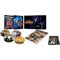 【Amazon.co.jp限定】アベンジャーズ/インフィニティ・ウォー 4K UHD MovieNEXプレミアムBOX(数量限定) オリジナルピンバッヂセット付