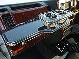 数量限定  S500系ハイゼットトラック フロントテーブル ブラックウッド 携帯ホルダー運転席側 ブラックフルメッキ