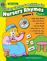 Full-Color Literacy Centers & Activities for Nursery Rhymes Vol. 2 [並行輸入品]