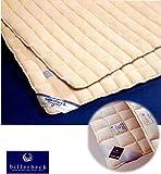 billerbeckビラベック/羊毛ベッドパッド (ダブルサイズ)