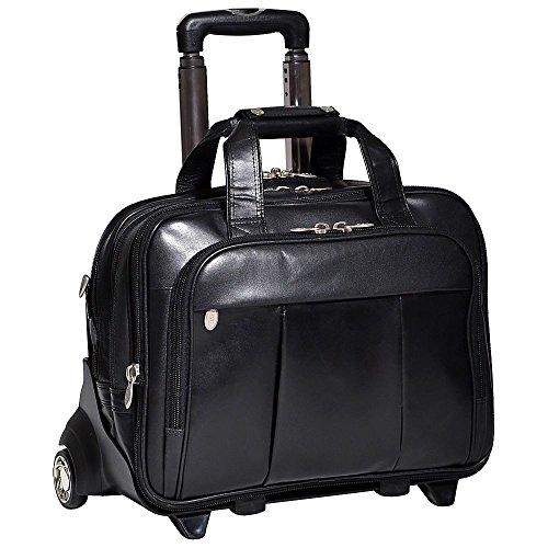 (マックレーンユーエスエー) McKlein USA メンズ バッグ キャリーバッグ Damen Leather Wheeled 17' Laptop Case 並行輸入品