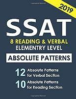SSAT 8 Reading & Verbal Elementary Level: + 20 hidden rules in verbal (HACKERS)