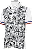 (ルコックスポルティフゴルフ)Le Coq Sportif/Golf Collection メンズ ゴルフ半袖シヤツ(ニツト) QG2944 N942 N942ホワイト LL