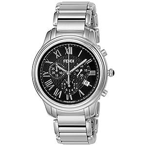 [フェンディ]FENDI 腕時計 クラシコクロノ ブラック文字盤 F252011000 メンズ 【並行輸入品】