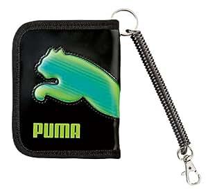 クツワ プーマ 3Dホロキャットウォレット 756PMGR 黒×緑