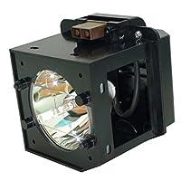 AuraBeam Toshiba 42hm66テレビ用交換ランプハウジング