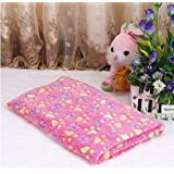 Glamorway Red Cute Soft Warm Pet Quilt Dog Cat Fleece Blanket