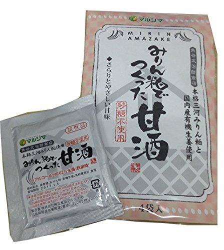 マルシマ みりん粕でつくった甘酒<72g>4袋入