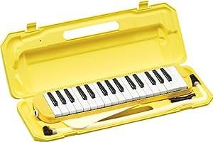 KC 鍵盤ハーモニカ (メロディーピアノ) イエロー P3001-32K/YW