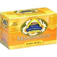 はちみつ紅茶(カモミール)マンサニージャコンミエル 1箱(20袋入り)(グランハサンフランシスコ)
