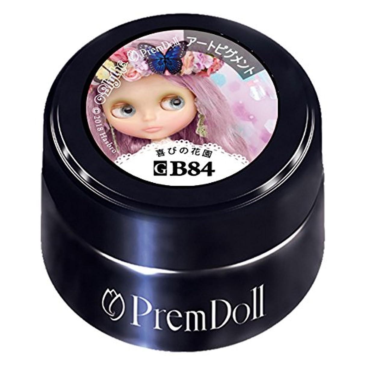 PRE GEL プリムドール 喜びの花園84 DOLL-B84 3g UV/LED対応