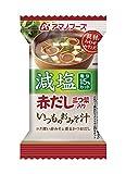 アマノフーズ 減塩いつものおみそ汁 赤だし(三つ葉入り) 6.5g×10個