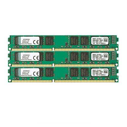 Kingston デスクトップPC用メモリ DDR3-1333 (PC3-10600) 8GBx3枚 CL9 1.5V Non-ECC DIMM 240pin KVR13N9K3/24 永久...