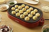 たこ焼き器 キッチン家電 焼きムラの少ないヒーター形状 たこ焼き2WAYプレート