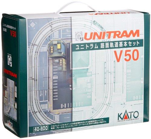 カトー ユニトラム 路面軌道基本セット V5...