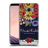 Official Frida Kahlo ブルーム レッド・フローラル ソフトジェルケース Samsung Galaxy S8