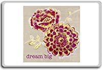 Dream Big - motivational inspirational quotes fridge magnet - 蜀キ阡オ蠎ォ逕ィ繝槭げ繝阪ャ繝