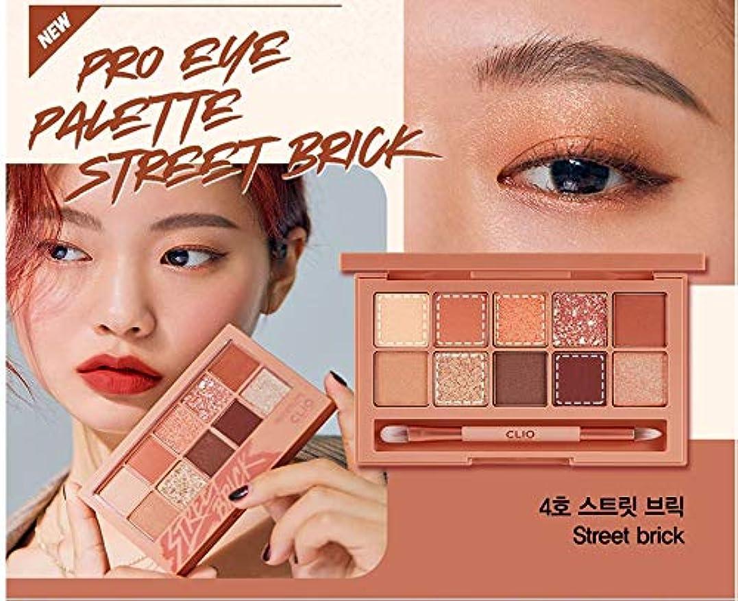 宣伝プロフェッショナル期限切れクリオ[CLIO] Pro Layering Eye Palette N04 ストリートブリック(0.6gx10色) / Pro Layering Eye Palette N04 Street Brick