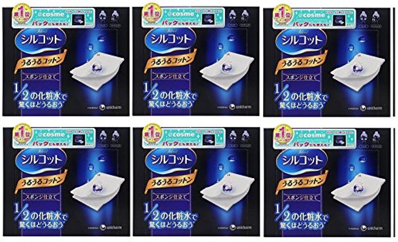 マーキングぺディカブましい【セット品】シルコット うるうるスポンジ仕立て(40枚入)x6