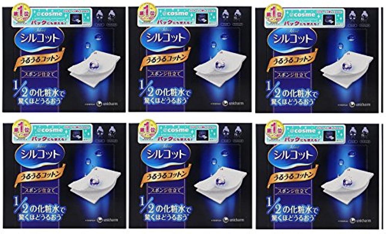 三角ランデブークロス【セット品】シルコット うるうるスポンジ仕立て(40枚入)x6