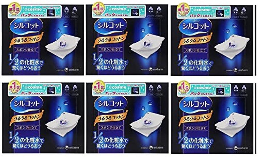 会社合唱団刈る【セット品】シルコット うるうるスポンジ仕立て(40枚入)x6