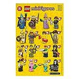 レゴ ミニフィギュア シリーズ12 LEGO minifigures #71007 全16種フルコンプセット ミニフィグ ブロック 積み木 ()