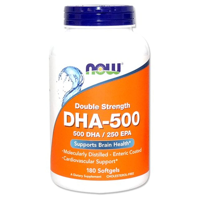 塗抹潜む窒素DHA 500mg 180粒[海外直送品]