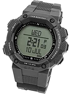 [LAD WEATHER]ラドウェザー 腕時計 GPS アウトドア/ランニング スポーツ 心拍計測 消費カロリー計算 メンズ時計