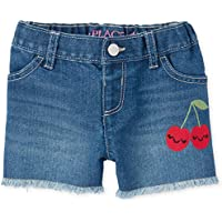 The Children's Place Baby Girls' Cherry Embellished Shorts