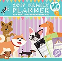 Magnet & Steel Monthly Dog 2019 Planner (9093) [並行輸入品]