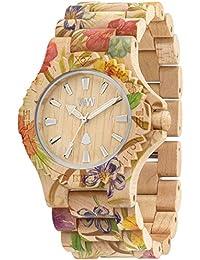 [ウィウッド]WEWOOD 腕時計 ウッド/木製 FLOWER BEIGE 9818035 メンズ 【正規輸入品】