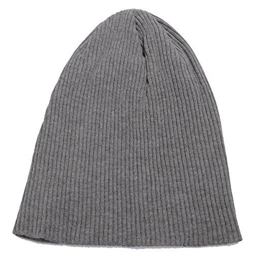 サマー ニット帽 メンズ レディース 春 夏 アウトラスト 日本製 グレー