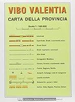 Vibo Valentia Provincial Road Map (1:100, 000)