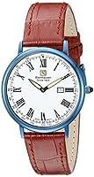Steinhausen Men's GWL493UWEA Dunn Luxe Analog Display Swiss Quartz Red Watch [並行輸入品]