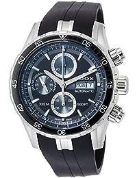 [エドックス]EDOX 腕時計 グランドオーシャン 自動巻きクロノグラフ 01123-3BUCA-NBUN メンズ 【正規輸入品】