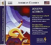 Milken Arch of American Jewish Music: Violin Cto 1