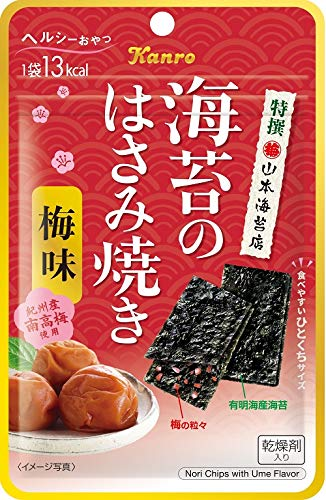 カンロ 海苔のはさみ焼き梅味 4.4g ×6個