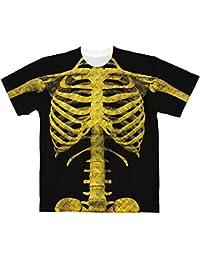 ゴールドスカルTシャツ【フルグラフィックTシャツ】