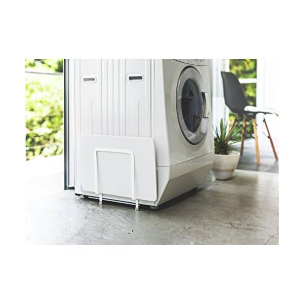 山崎実業 マグネット 洗濯機横 珪藻土バスマッ...の紹介画像2
