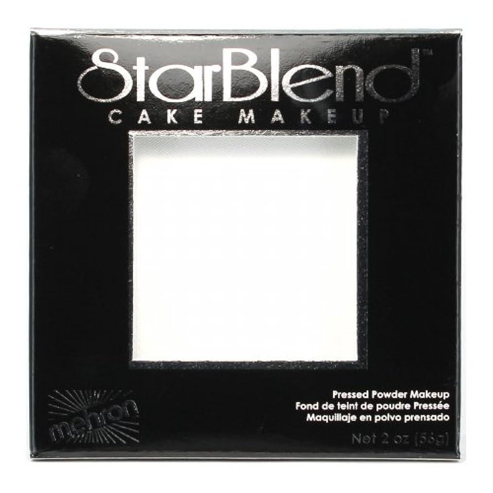 調和満了住居(3 Pack) mehron StarBlend Cake Makeup - White (並行輸入品)