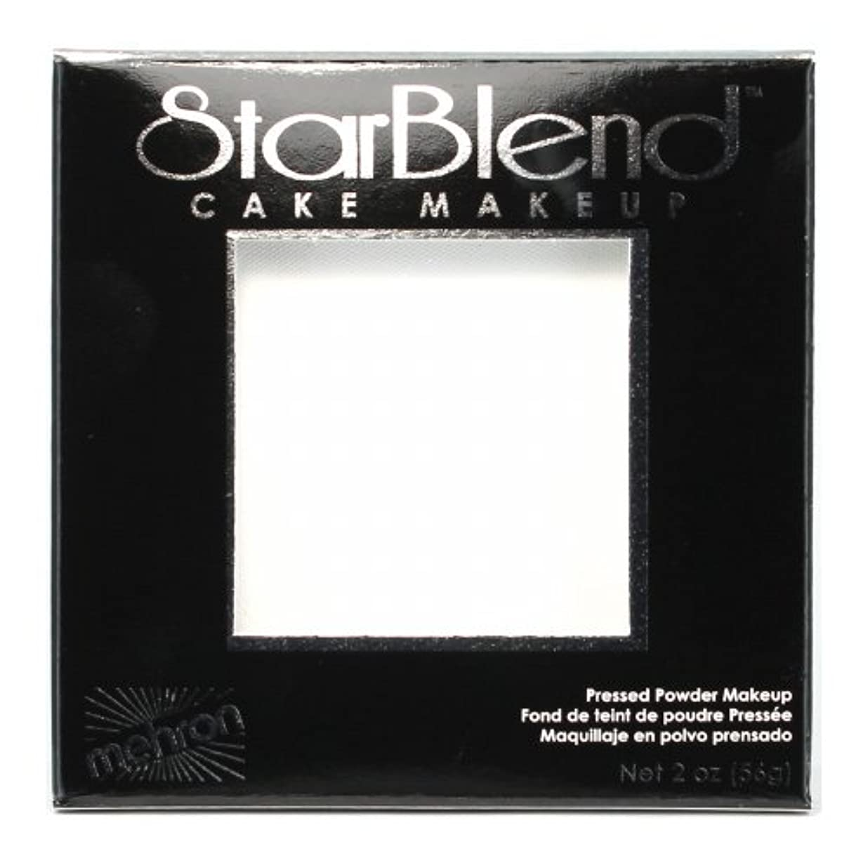 金銭的な菊改修する(3 Pack) mehron StarBlend Cake Makeup - White (並行輸入品)