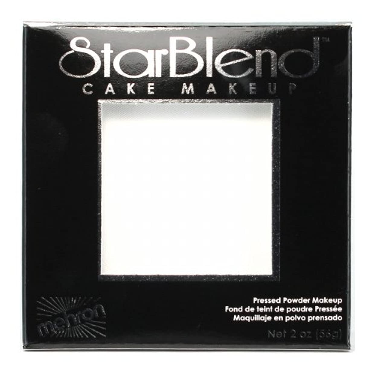 マッシュ慈悲深い母音(3 Pack) mehron StarBlend Cake Makeup - White (並行輸入品)