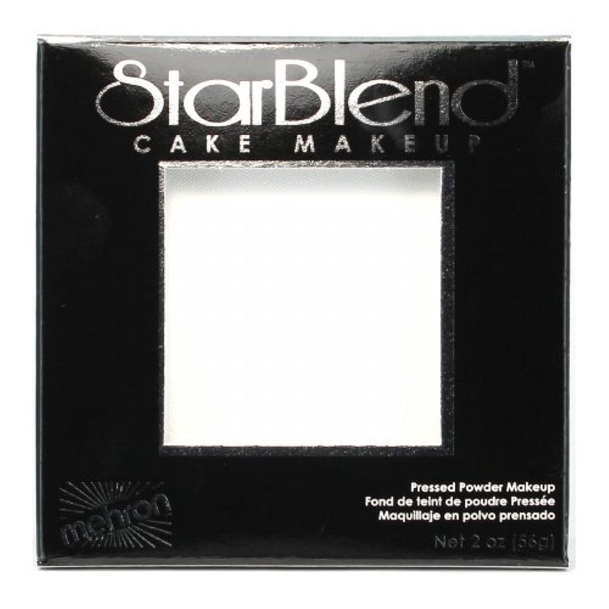 キネマティクスマークされた無視できる(3 Pack) mehron StarBlend Cake Makeup - White (並行輸入品)