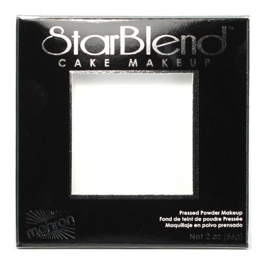甘味洞察力再生的(3 Pack) mehron StarBlend Cake Makeup - White (並行輸入品)